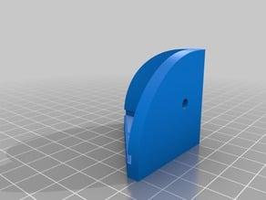 Corner binder for Building Plexi Glass Enclosure