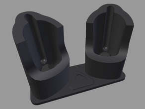 Dual HTC Vive Wand Charging Stand