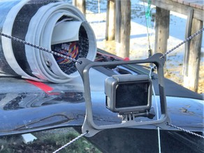 GoPro mount for A-Class Catamaran