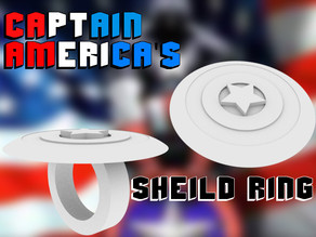 Captain America's Shield Ring