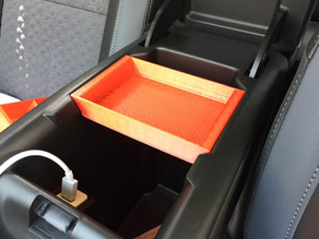 Chevy Colorado Center Console Trays