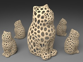 LASER CAT - Voronoi Style
