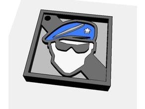 Recruit - Keychain (Rainbow Six Siege)