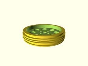 Tetrix Wheel Hub for LEGO 2902 Motorcycle Wheel