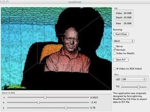 OSX Kinect Application