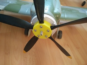 5 blade holder replacement for Durafly Spitfire Mk-24