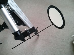 Telescope Sun Screen for Projecting Images of the Sun