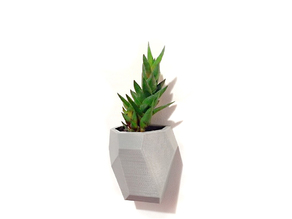 Faceted Modular Wall Planter