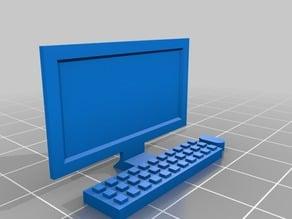 Desktop Computer for Playmobil