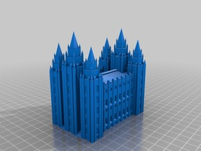 Salt Lake City Temple (LDS,Mormon)