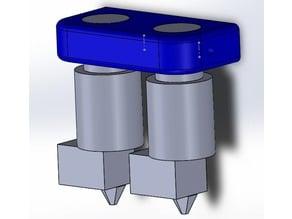 Minimalist Dual E3D V6 Print Head