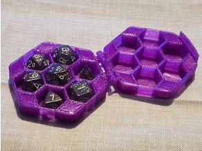 Print-in-place Hinged Mini Dice Case