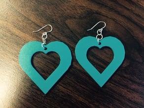 Easy Heart Earrings