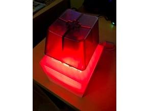 BigSwitch + Arduino Nano + 12 2812b NeoPixel Ring Lamp