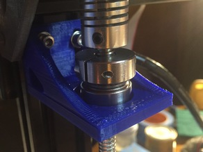Z axis Screw Bracket (Tarantula Printer 2040 aluminum)
