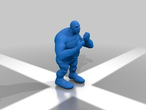 Fighting giant