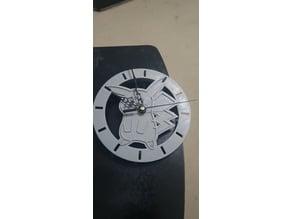 Pikachu Clock