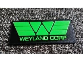 Weyland Corp Badge