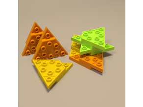 Triangular building blocks