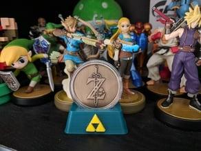 Zelda BOTW Coin Triforce Stand