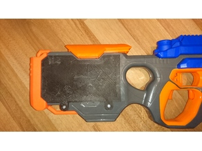 Nerf Hyperfire battery cover