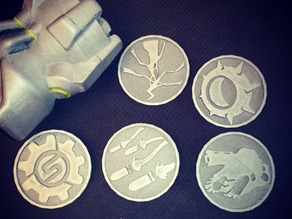 Overwatch Ultimate Coins (some of them...)