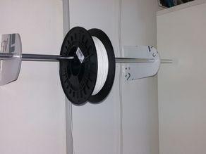 Porta bobina da muro / wall spool holder