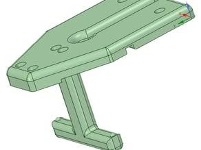 CTC 3D Bowden motor bracket