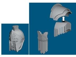 Dominion Crusader MK3 Roman style parts (28mm)