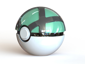 Net Ball - Fully Functional PokeBall with Button and Hinge