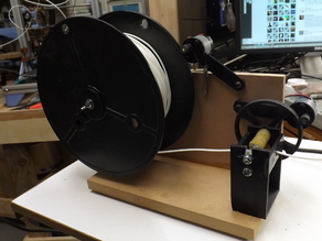 LYMAN FILAMENT SPOOL WINDER