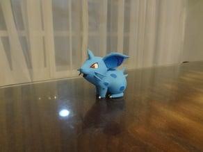 Nidoran F Pokemon EDLI3D