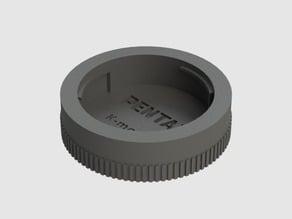 Rear lens cap for Pentax K-mount