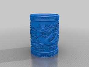 vase dragons