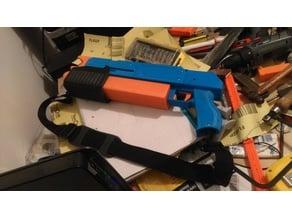 The ScatterShot (a foam half dart blaster)