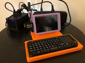 Raspberry Pi SDR Scanner Stand