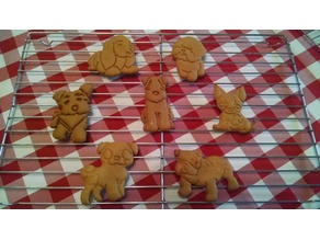 Doggie Cookie Cutter Set #2