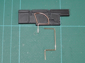 5.8gHz Cloverleaf/skew-planar antenna bending tool