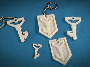 Ingress - Resistance Shield and Key