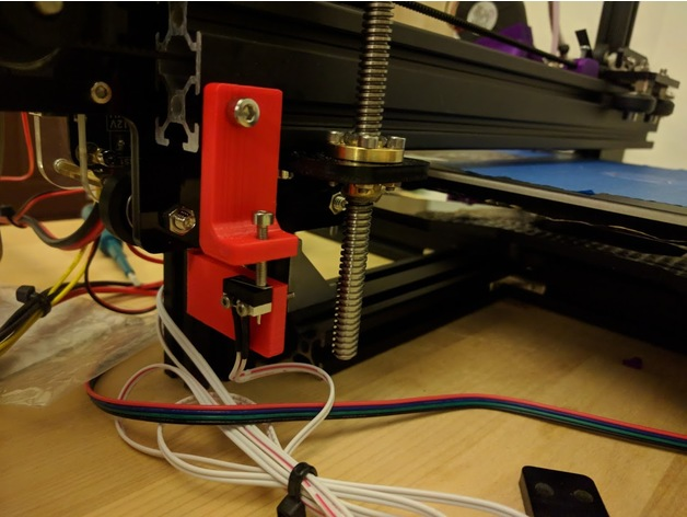 Adjustable Z Axis Limit Switch Mount For Tevo Tarantula By