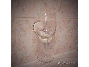 Bathtub Bathroom Wine Glass Holder IKEA IMMELN Suction