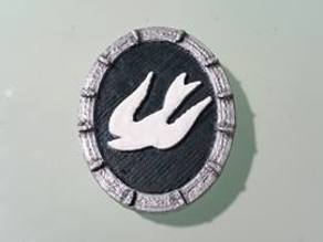 Elizabeth Comstock bird necklace - Bioshock Infinite (cosplay)