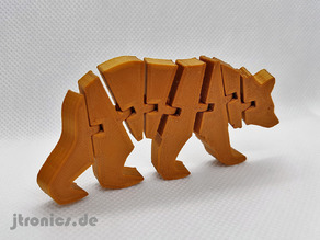 Flexi Articulated Bear