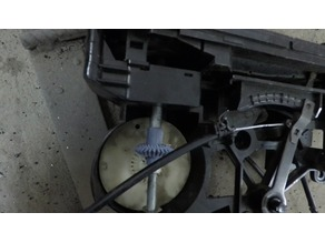 Honda Civic IV 88-91 Heater Controller Gear