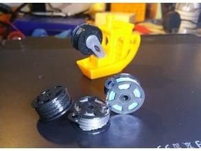 Filament Spool Keychain