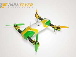 "Canopy/Bodyshell ""Bullhead"" for Parkflyer 400 GT"