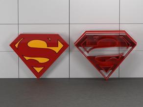 Superman - cookie cutter