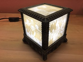 Gothic Lithophane Light