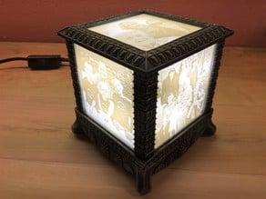 Gothic Lithophane Light