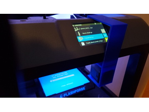 Go Pro 5 Session Camera holder for FlashForgeFinder